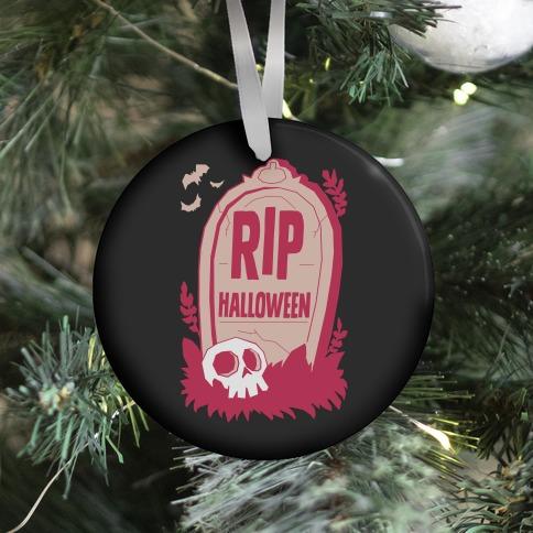 RIP Halloween Ornament