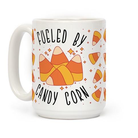 Fueled By Candy Corn Coffee Mug