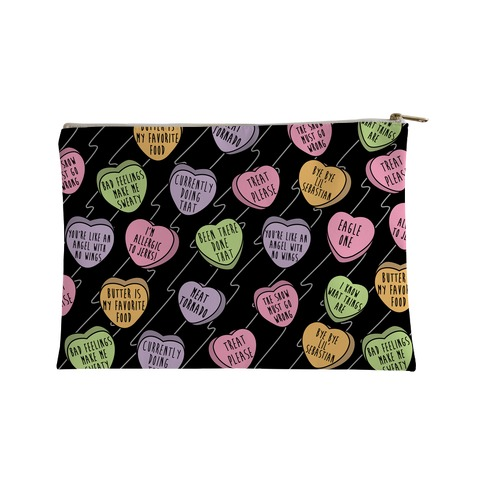 Andy Quotes Conversation Hearts Accessory Bag