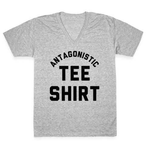 Antagonistic Tee Shirt V-Neck Tee Shirt