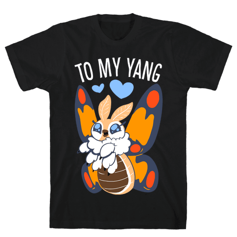 You're The Yin To My Yang (Mothra) Mens/Unisex T-Shirt