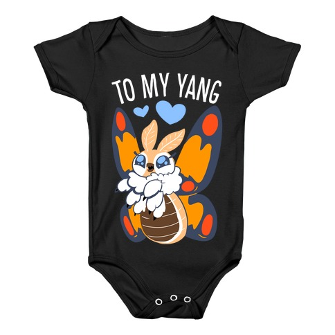 You're The Yin To My Yang (Mothra) Baby Onesy