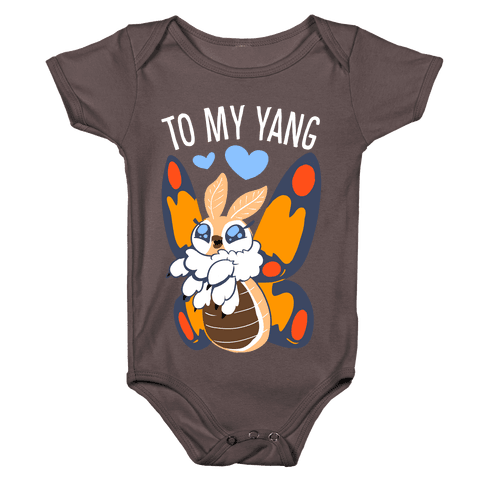 You're The Yin To My Yang (Mothra) Baby One-Piece