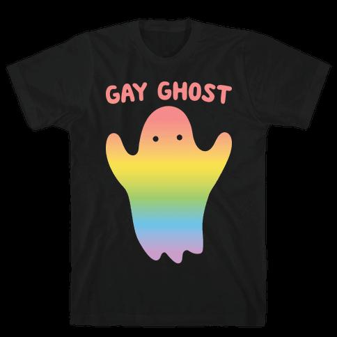 Gay Ghost Mens T-Shirt