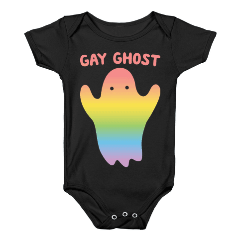 Gay Ghost Baby Onesy