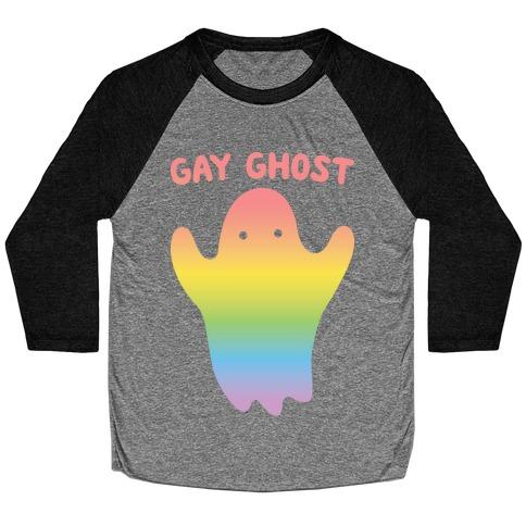 Gay Ghost Baseball Tee
