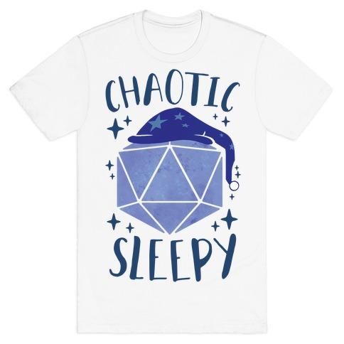 Chaotic Sleepy T-Shirt