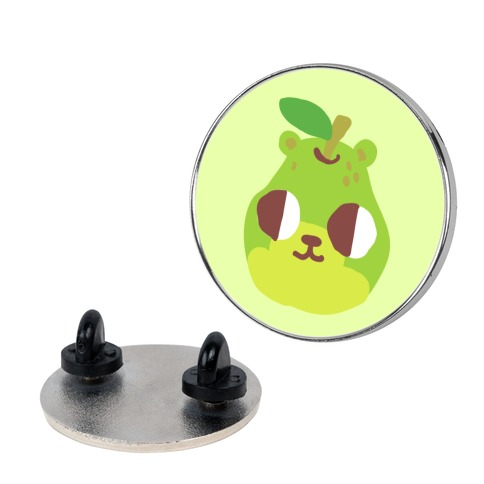 Pear Bear Pin