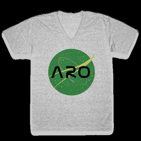 Aro Nasa V-Neck Tee Shirt
