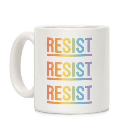 Rainbow Resist Coffee Mug