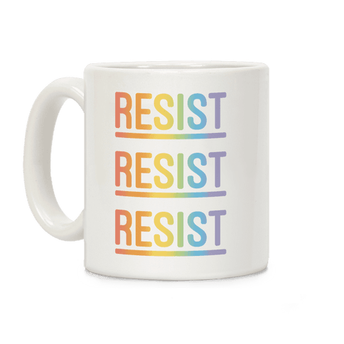 Rainbow Resist Coffee Mug