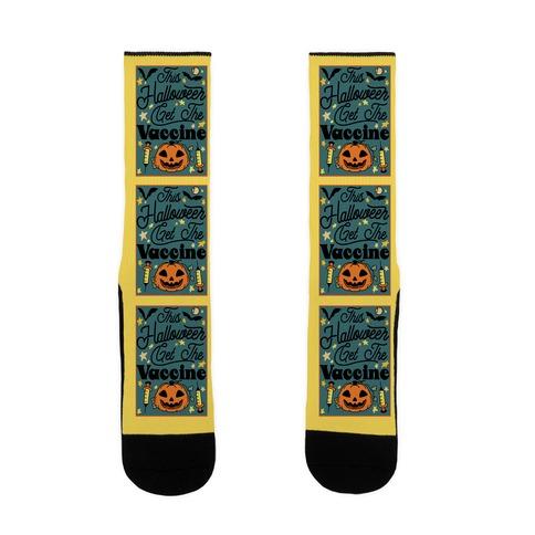 This Halloween Get The Vaccine Sock