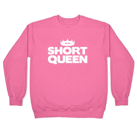 Short Queen White Print Pullover