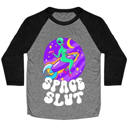 Space Slut Baseball Tee