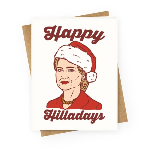 Happy Hilladays Greeting Card