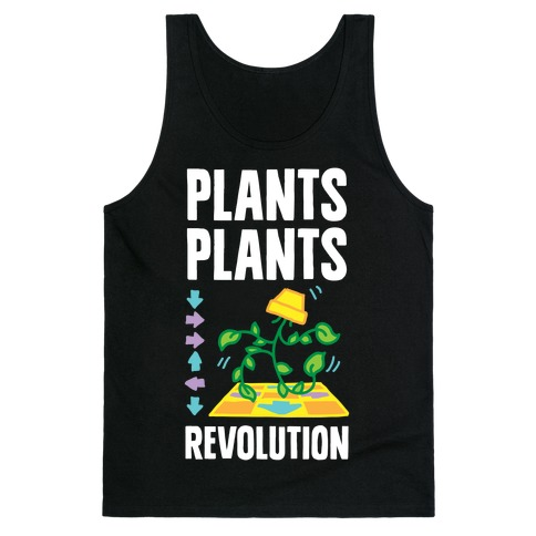 Plants Plants Revolution Tank Top