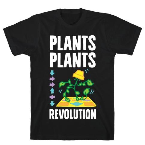 Plants Plants Revolution Mens/Unisex T-Shirt