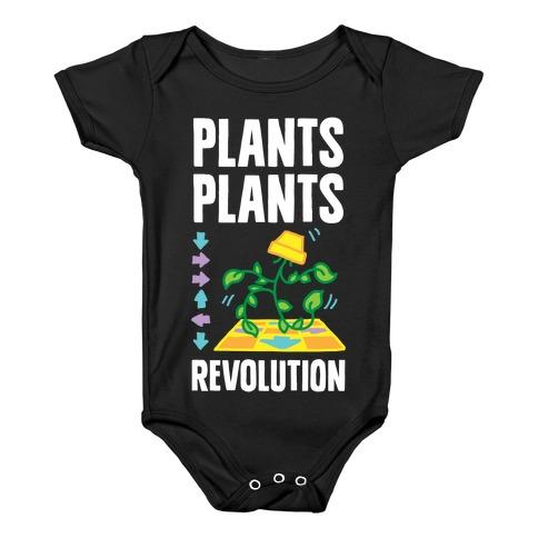 Plants Plants Revolution Baby Onesy