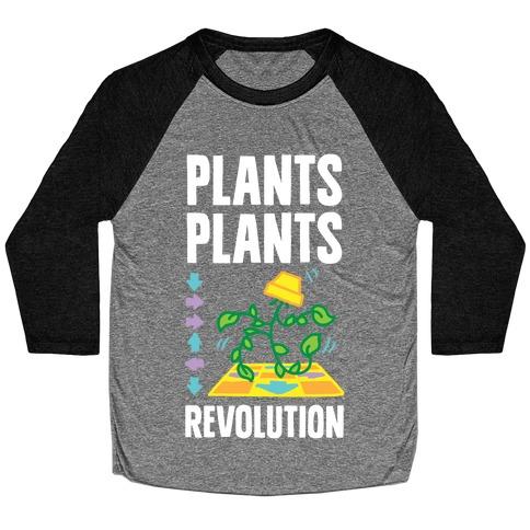 Plants Plants Revolution Baseball Tee