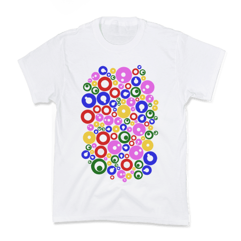 Bloobles Pattern Kids T-Shirt