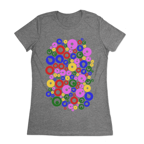 Bloobles Pattern Womens T-Shirt
