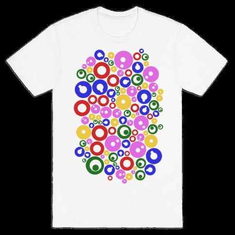 Bloobles Pattern Mens/Unisex T-Shirt