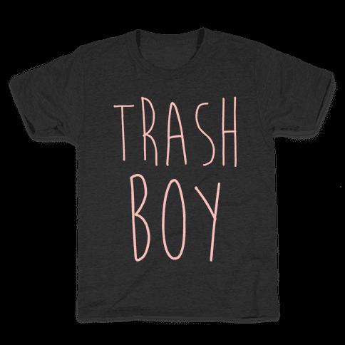 Trash Boy Kids T-Shirt
