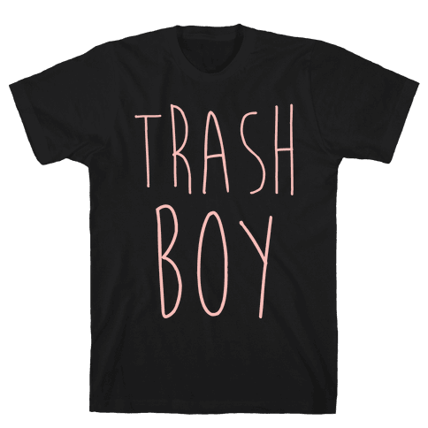 Trash Boy Mens T-Shirt
