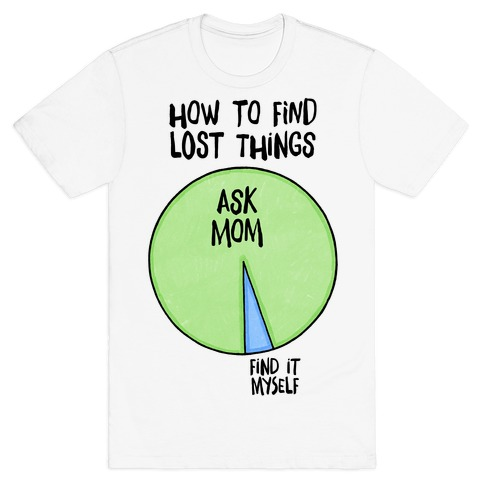 How To Find Things: Ask Mom T-Shirt