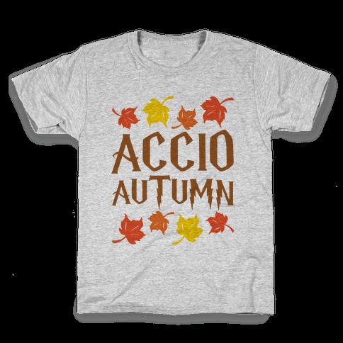 Accio Autumn Parody Kids T-Shirt