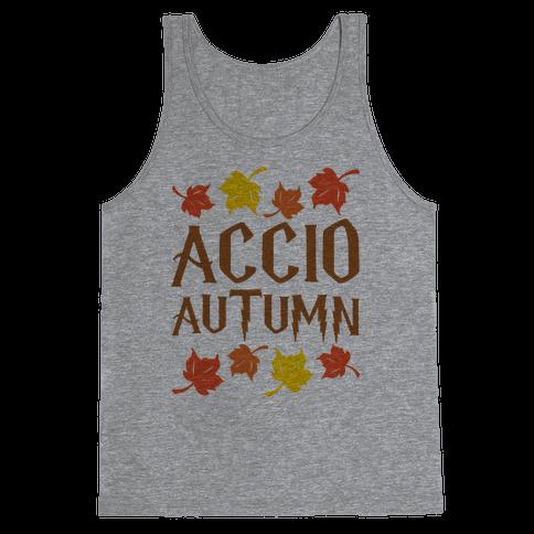 Accio Autumn Parody Tank Top