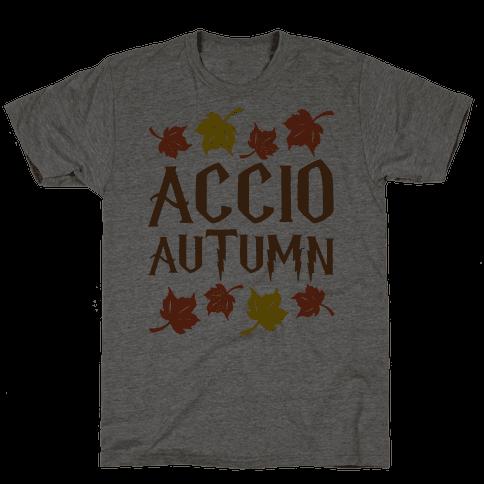Accio Autumn Parody Mens T-Shirt