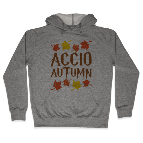 Accio Autumn Parody Hooded Sweatshirt