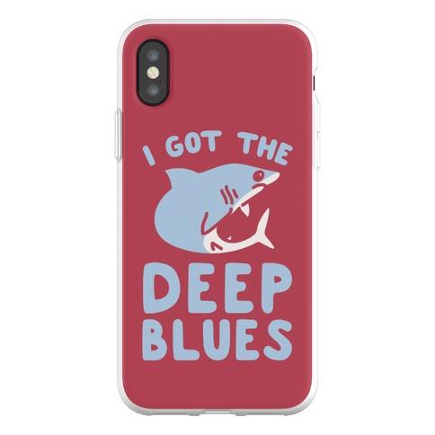 I Got The Deep Blues Phone Flexi-Case