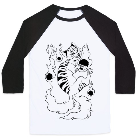 Ink Nekomata Baseball Tee