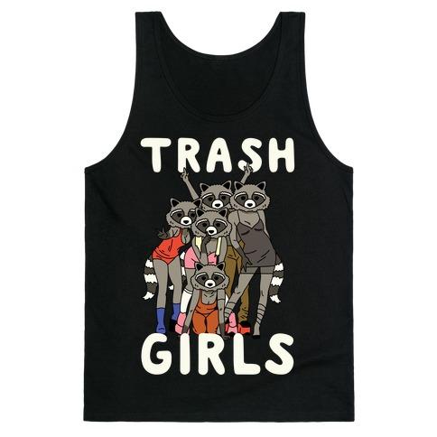 Trash Girls Raccoons Tank Top