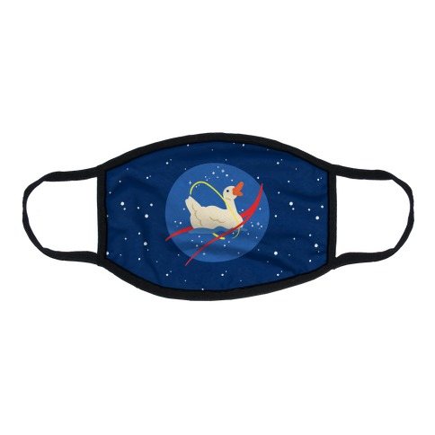 Gander At The Stars  Flat Face Mask