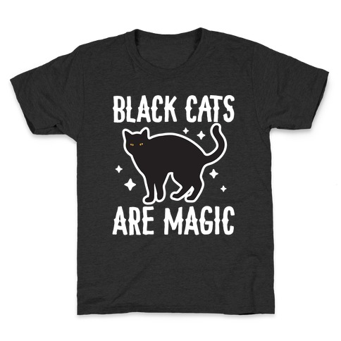 Black Cats Are Magic Kids T-Shirt