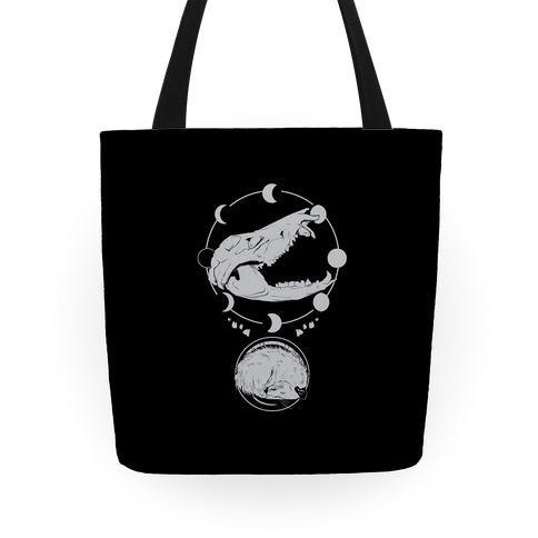 Occult Trash Possum Tote