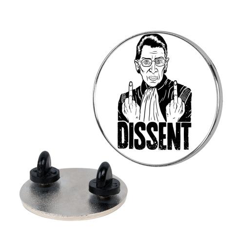 Ruth Bader Ginsburg Dissent Pin