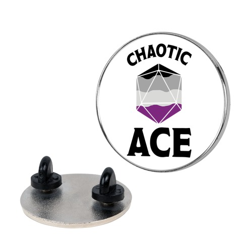 Chaotic Ace Pin