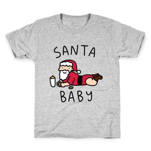 Santa Baby Kids T-Shirt
