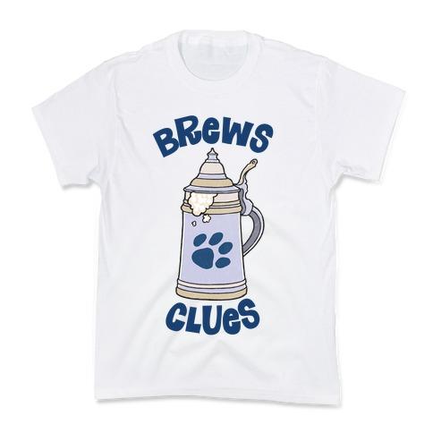 Brews Clues Kids T-Shirt
