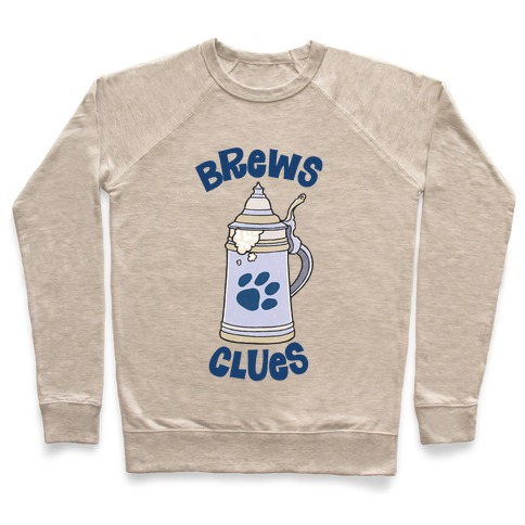Brews Clues Pullover