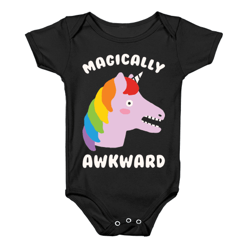 Magically Awkward Baby Onesy