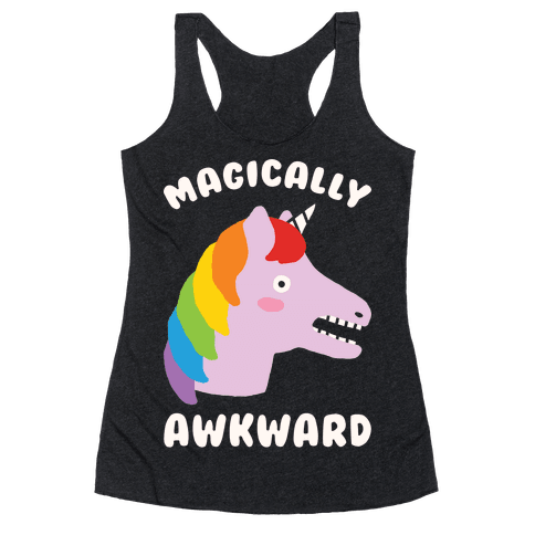 Magically Awkward Racerback Tank Top