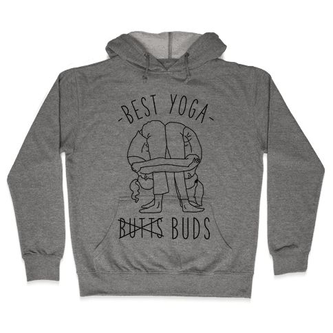 Best Yoga Buds Hooded Sweatshirt