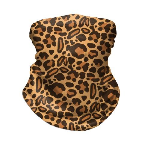 Leopard Print Pattern Neck Gaiter