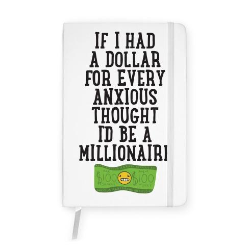 Anxious Millionaire Notebook