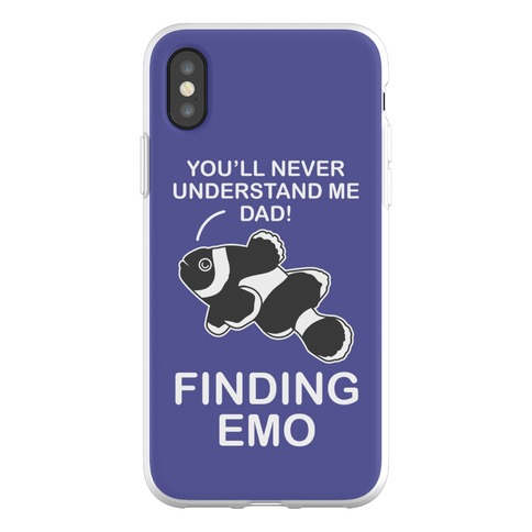 Finding Emo Phone Flexi-Case